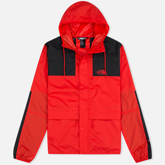 Мужская куртка ветровка The North Face 1985 Seasonal Mountain Fiery Red