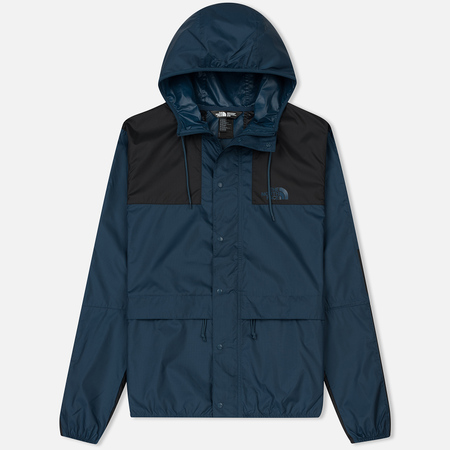 Мужская куртка ветровка The North Face 1985 Seasonal Mountain Celebration Blue Wing Teal