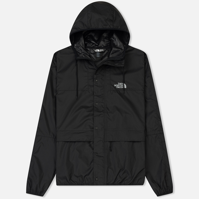 Мужская куртка ветровка The North Face 1985 Seasonal Mountain Celebration  TNF Black High Rise Grey 5446880ae6e