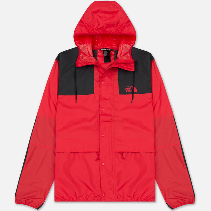 Мужская куртка ветровка The North Face 1985 Seasonal Mountain Celebration TNF Red/TNF Black