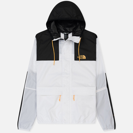 Мужская куртка ветровка The North Face 1985 Seasonal Mountain Celebration TNF White/Black
