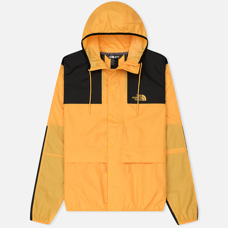 Мужская куртка ветровка The North Face 1985 Seasonal Mountain Celebration TNF Yellow/Black