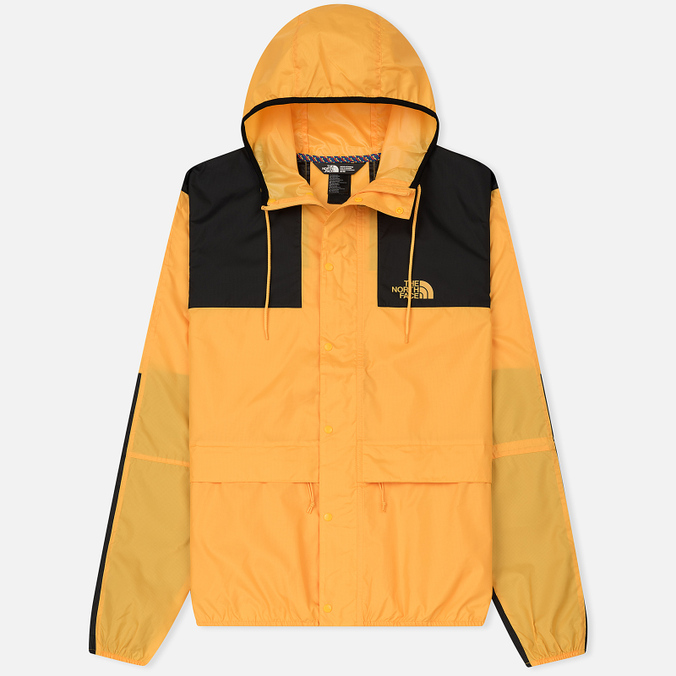 Мужская куртка ветровка The North Face 1985 Seasonal Mountain Celebration TNF Yellow/Black
