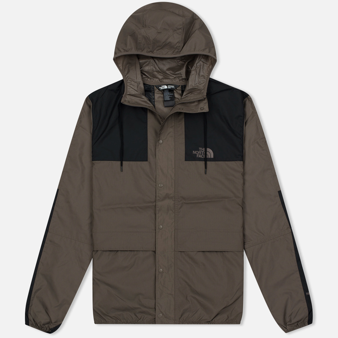 Мужская куртка ветровка The North Face 1985 Seasonal Mountain Celebration Falcon Brown