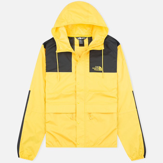 Мужская куртка ветровка The North Face 1985 Seasonal Mountain Fressia Yellow