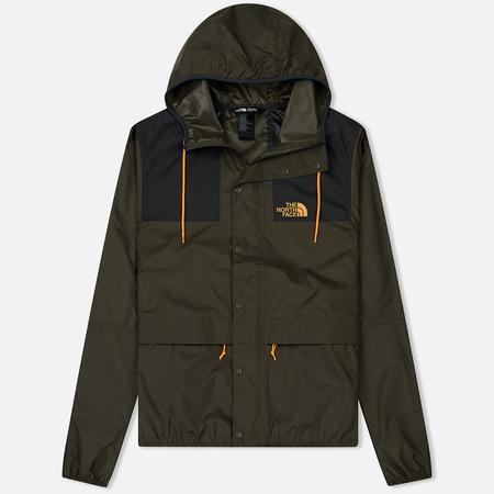 Мужская куртка ветровка The North Face 1985 Seasonal Mountain New Taupe Green/TNF Black