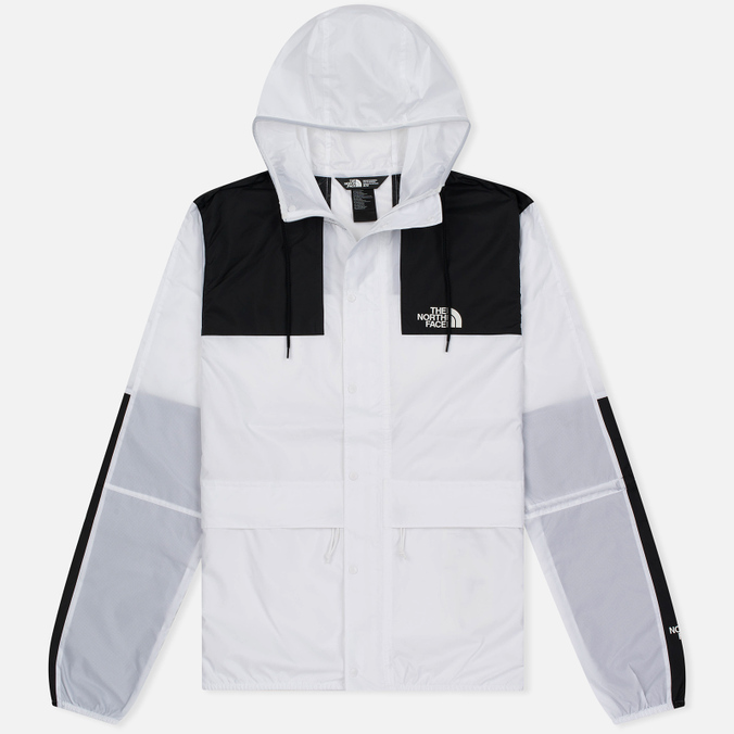 Мужская куртка ветровка The North Face 1985 Seasonal Mountain Celebration TNF White