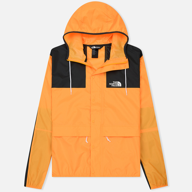 Мужская куртка ветровка The North Face 1985 Seasonal Mountain Zinna Orange