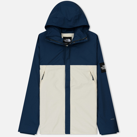 Мужская куртка ветровка The North Face 1990 Mountain Blue Wing Teal/Vintage White