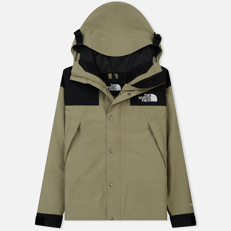 Мужская куртка ветровка The North Face 1990 Mountain Gore-Tex Tumbleweed Green