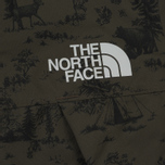 Мужская куртка ветровка The North Face 1990 Mountain Quest Black Ink Green Toile De Jouy Print фото- 4