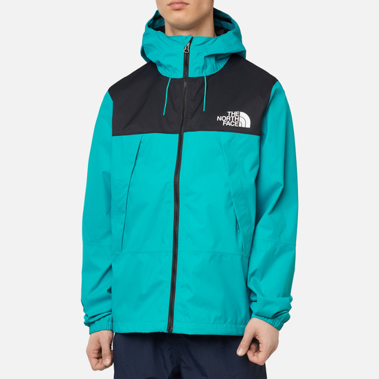 Мужская куртка ветровка The North Face 1990 Mountain Quest Jaiden Green