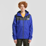 Мужская куртка ветровка The North Face 1990 Mountain Quest Lapis Blue фото- 2