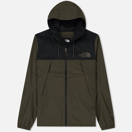 Мужская куртка ветровка The North Face 1990 Mountain Quest TNF Black/New Taupe Green