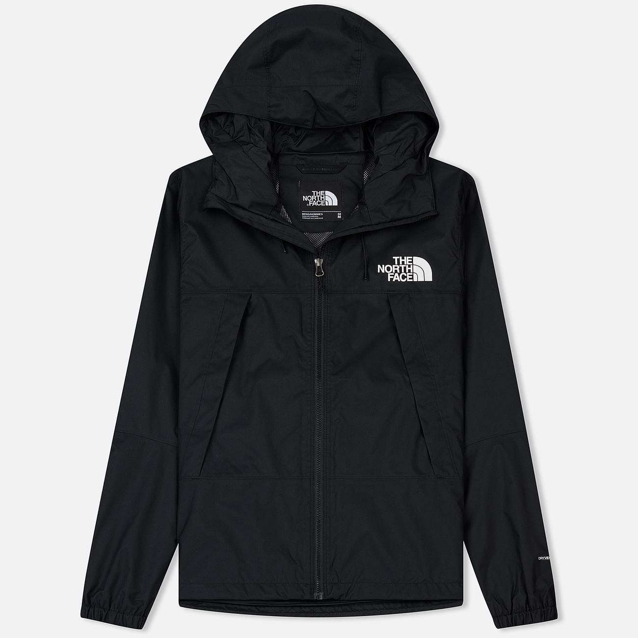 Мужская куртка ветровка The North Face 1990 Mountain Quest TNF Black/TNF White/TNF White