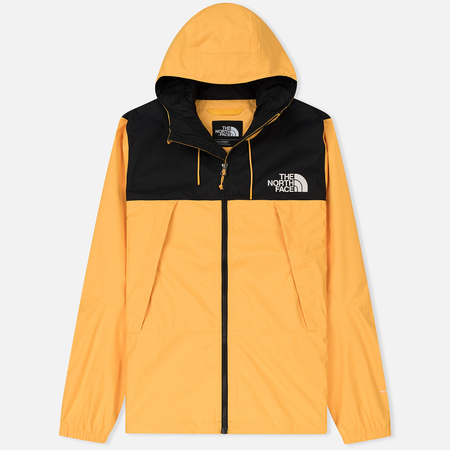 Мужская куртка ветровка The North Face 1990 Mountain Quest TNF Black/Yellow