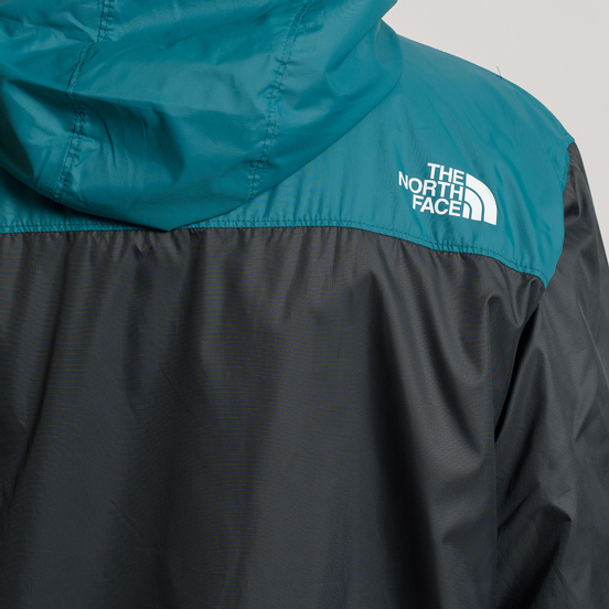 Мужская куртка ветровка The North Face 1990 Seasonal Mountain Asphalt Grey/Everglade