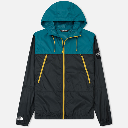 Мужская куртка ветровка The North Face 1990 Seasonal Mountain Asphalt Grey/Everglade