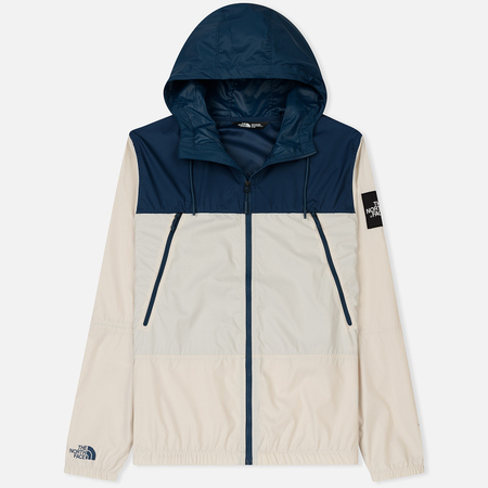 Мужская куртка ветровка The North Face 1990 Seasonal Mountain Blue Wing Teal/Vintage White