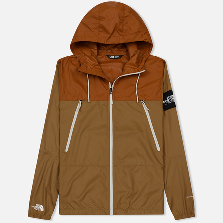 Мужская куртка ветровка The North Face 1990 Seasonal Mountain Cargo Khaki/Caramel Cafe