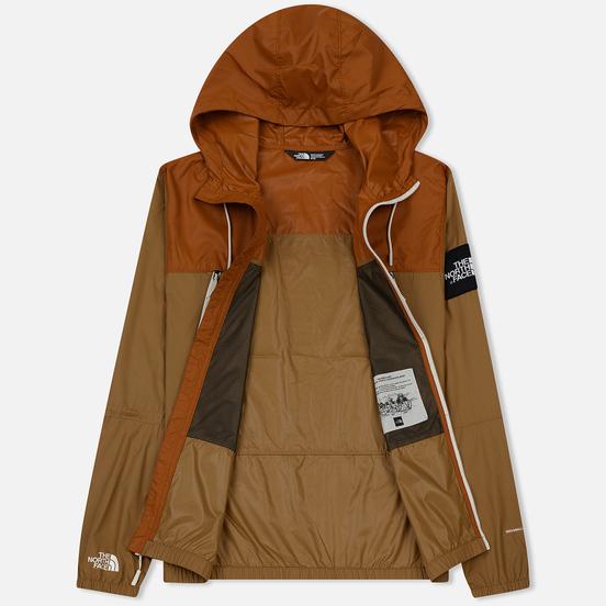 Мужская куртка ветровка The North Face 1990 Seasonal Mountain Cargo Khaki/Caramel Cafe