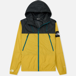 Мужская куртка ветровка The North Face 1990 Seasonal Mountain Leopard Yellow/Asphalt Grey фото- 0