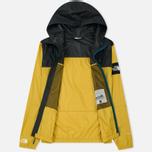 Мужская куртка ветровка The North Face 1990 Seasonal Mountain Leopard Yellow/Asphalt Grey фото- 1