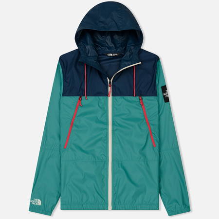 Мужская куртка ветровка The North Face 1990 Seasonal Mountain Porcelain Green/Blue Wing Teal