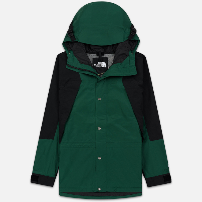 Мужская куртка ветровка The North Face 94 Retro Mountain Gore-Tex Night Green