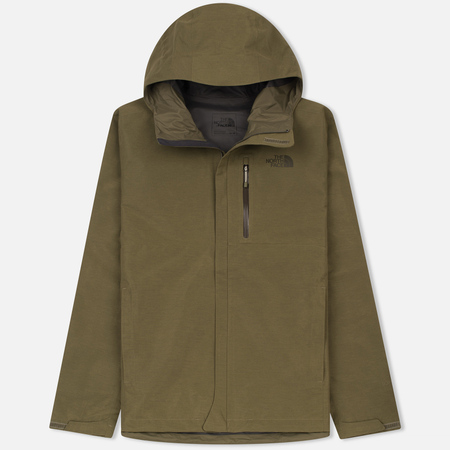Мужская куртка ветровка The North Face Dryzzle Burnt Olive Green Heather