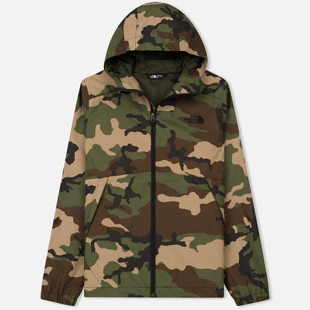 Мужская куртка ветровка The North Face Millerton Terrarium Green