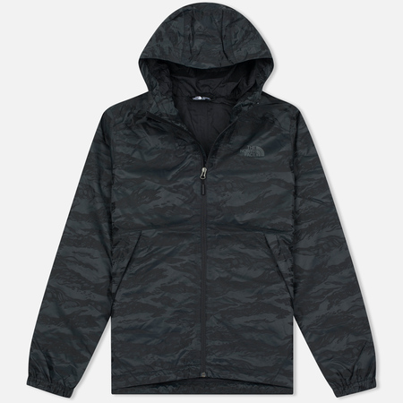 Мужская куртка ветровка The North Face Millerton TNF Black Tigrid Camo