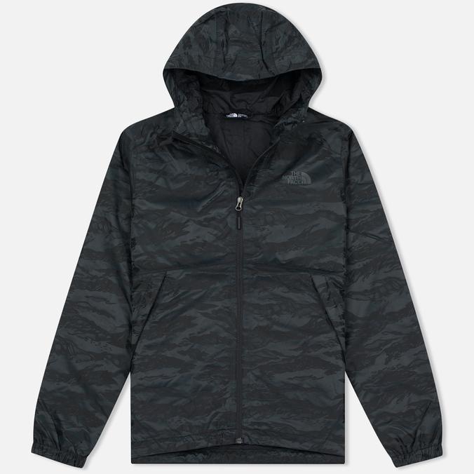 Мужская куртка ветровка The North Face Millerton TNF Black Tigrid Camo