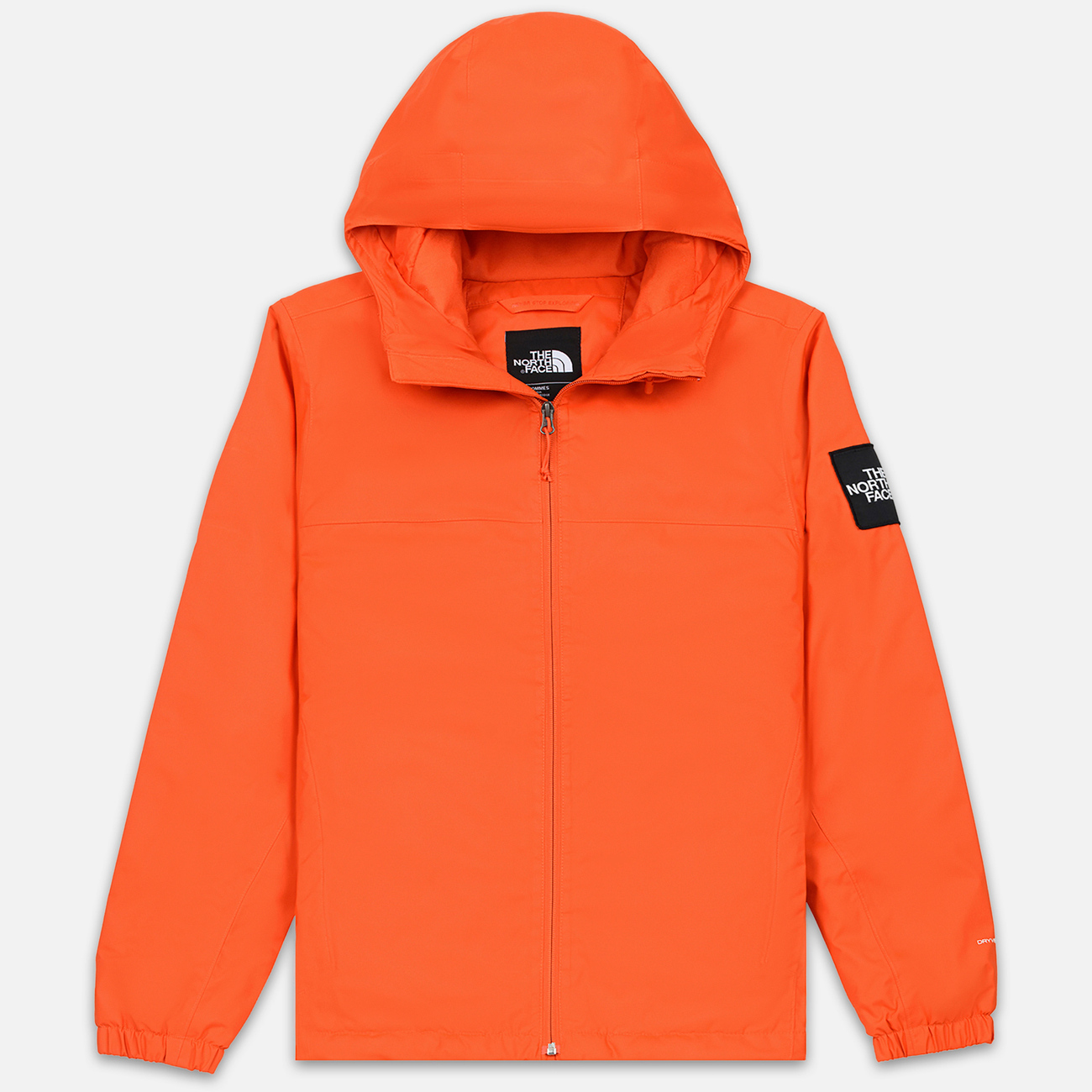 Мужская куртка ветровка The North Face Mountain Q Insul Tangerine Tango