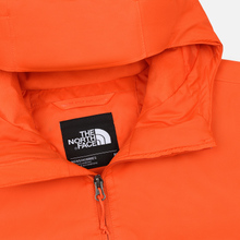 Мужская куртка ветровка The North Face Mountain Q Insul Tangerine Tango фото- 1