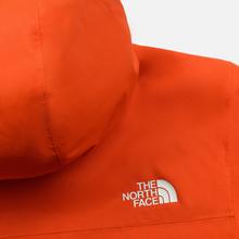 Мужская куртка ветровка The North Face Mountain Q Insul Tangerine Tango фото- 7