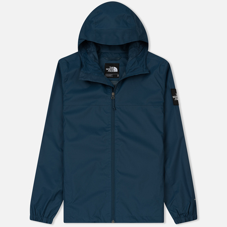 Мужская куртка ветровка The North Face Mountain Quest Blue Wing Teal