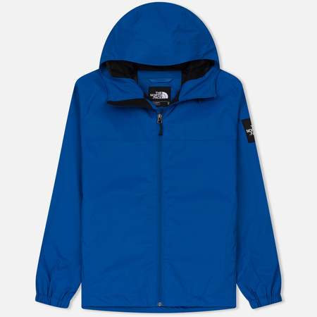 Мужская куртка ветровка The North Face Mountain Quest Bright Cobalt Blue