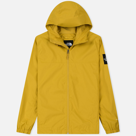 Мужская куртка ветровка The North Face Mountain Quest Leopard Yellow