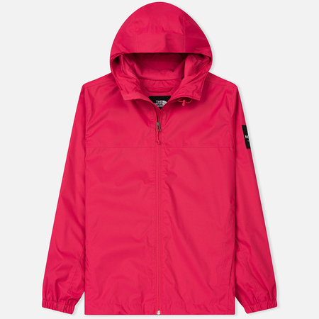 Мужская куртка ветровка The North Face Mountain Quest Raspberry Red