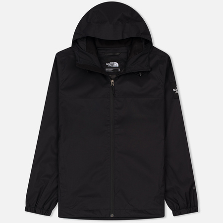 Мужская куртка ветровка The North Face Mountain Quest TNF Black/High Rise Grey