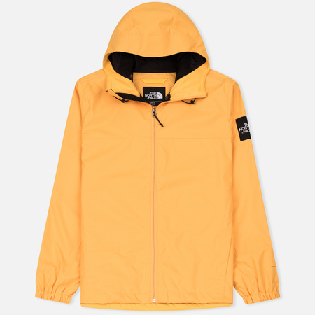 Мужская куртка ветровка The North Face Mountain Quest TNF Yellow