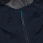 Мужская куртка ветровка The North Face Point Five Gore-Tex Pro 3L Urban Navy фото- 3