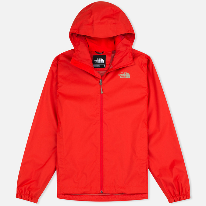 Мужская куртка ветровка The North Face Quest Fiery Red