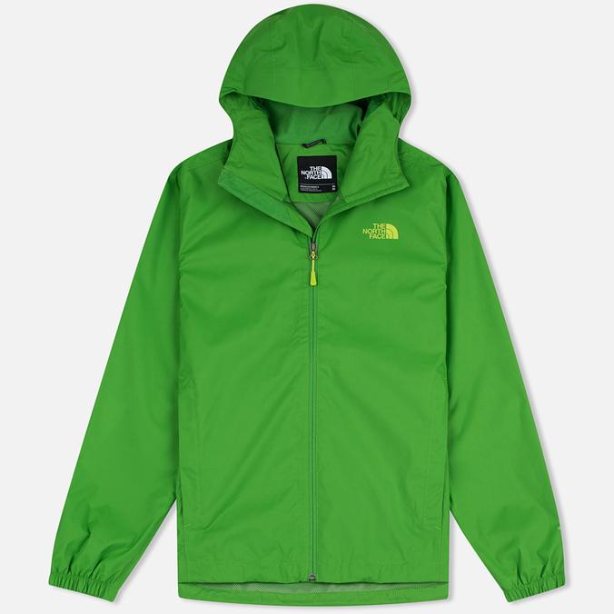 Мужская куртка ветровка The North Face Quest Flashlight Green