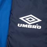 Мужская куртка ветровка Umbro Pro Training Potenza Navy/Royal фото- 3