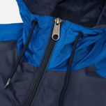 Мужская куртка ветровка Umbro Pro Training Potenza Navy/Royal фото- 2