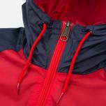 Мужская куртка ветровка Umbro Pro Training Potenza Red/Navy фото- 2