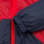 Мужская куртка ветровка Umbro Pro Training Potenza Red/Navy фото- 6