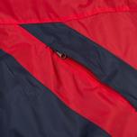 Мужская куртка ветровка Umbro Pro Training Potenza Red/Navy фото- 7